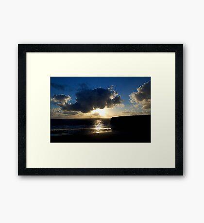 Ballybunion Sunset Framed Print