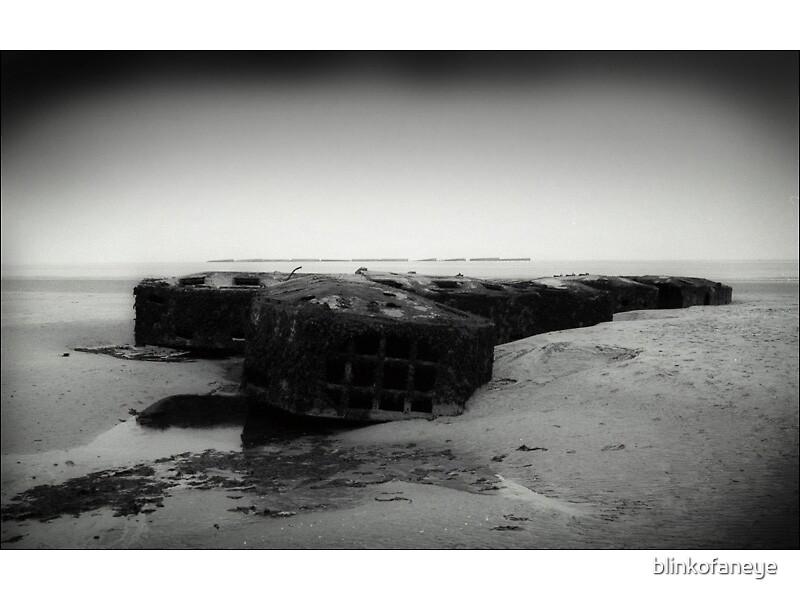 Artificial harbour by blinkofaneye