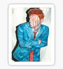 gerard way drip portrait Sticker