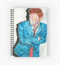 Cuaderno de espiral Retrato de goteo gerard manera