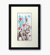 Cool Elephant Framed Print