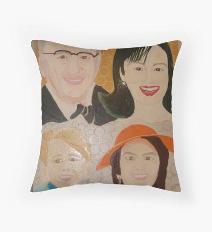 Dame Elizabeth Murdoch - 103* not out, Sir Don Bradman 93 out & Sachin Tendulkar 39* Not Out Throw Pillow