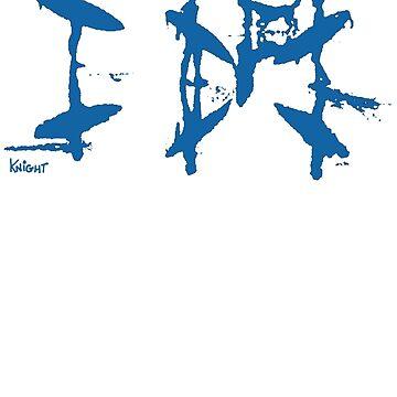 Afternoon Board Meeting (Blue Print) by JarrodKnight