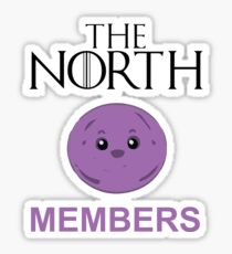 The North Members Sticker