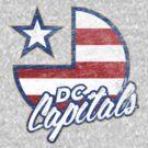 DC Capitals - Retro America by newdamage