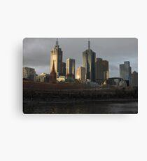 Postcard Metropolis  Canvas Print