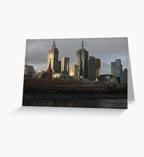 Postcard Metropolis  Greeting Card