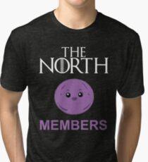 The North Members - Black Tri-blend T-Shirt