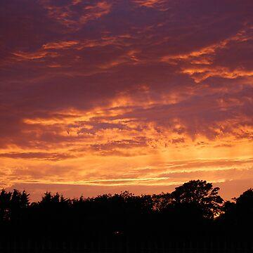 Evening Sky over Fleetwood by MarkJones