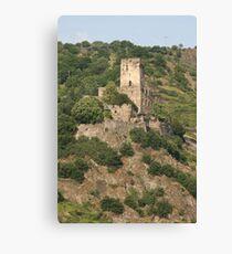 Burg Gutenfels Canvas Print