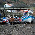 Fishing boats at Staithes by dougie1