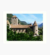 Mareccio Castle Art Print