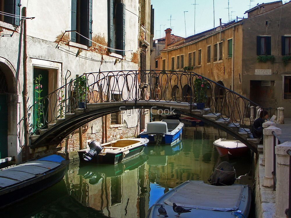 Quiet Canal by SylviaCook