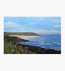 Croyde Bay Beach, Devon Photographic Print