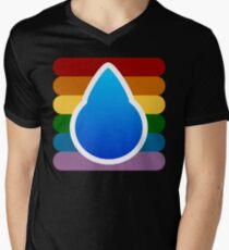 FLOOD... Mens V-Neck T-Shirt