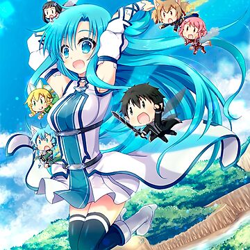 Asuna Blue Team by MiriamPanda