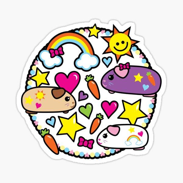 Pop Pigz - Guinea Pig wa Kawaii! Sticker