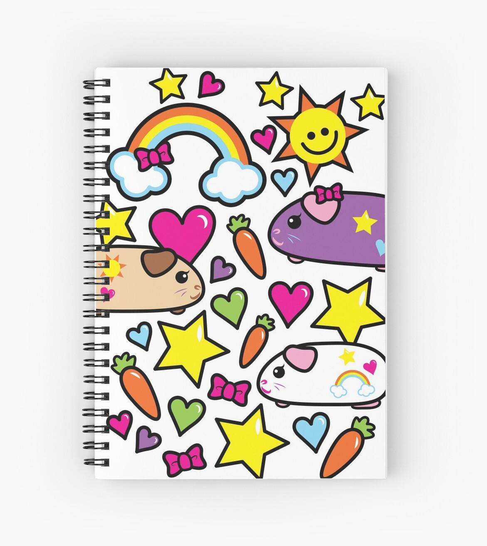 Cuadernos de espiral «Pop Pigz - Conejillo de Indias wa Kawaii!» de ...