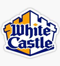 White castle logo Sticker