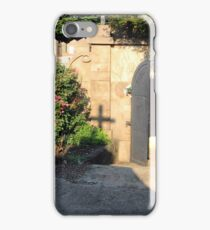A Door To Where Presidents And A First Lady Rested In Peace At Congressional Cemetery iPhone Case/Skin