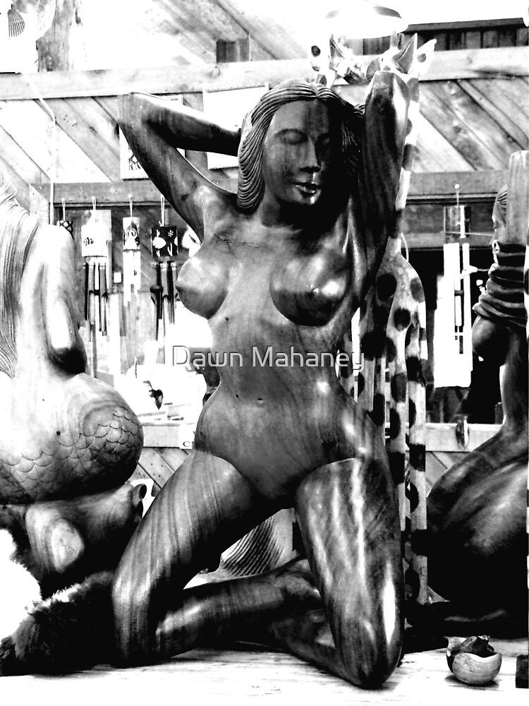 Woman Posing by Dawn Mahaney