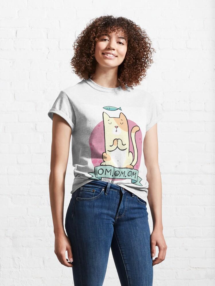Alternate view of Cat OM Classic T-Shirt