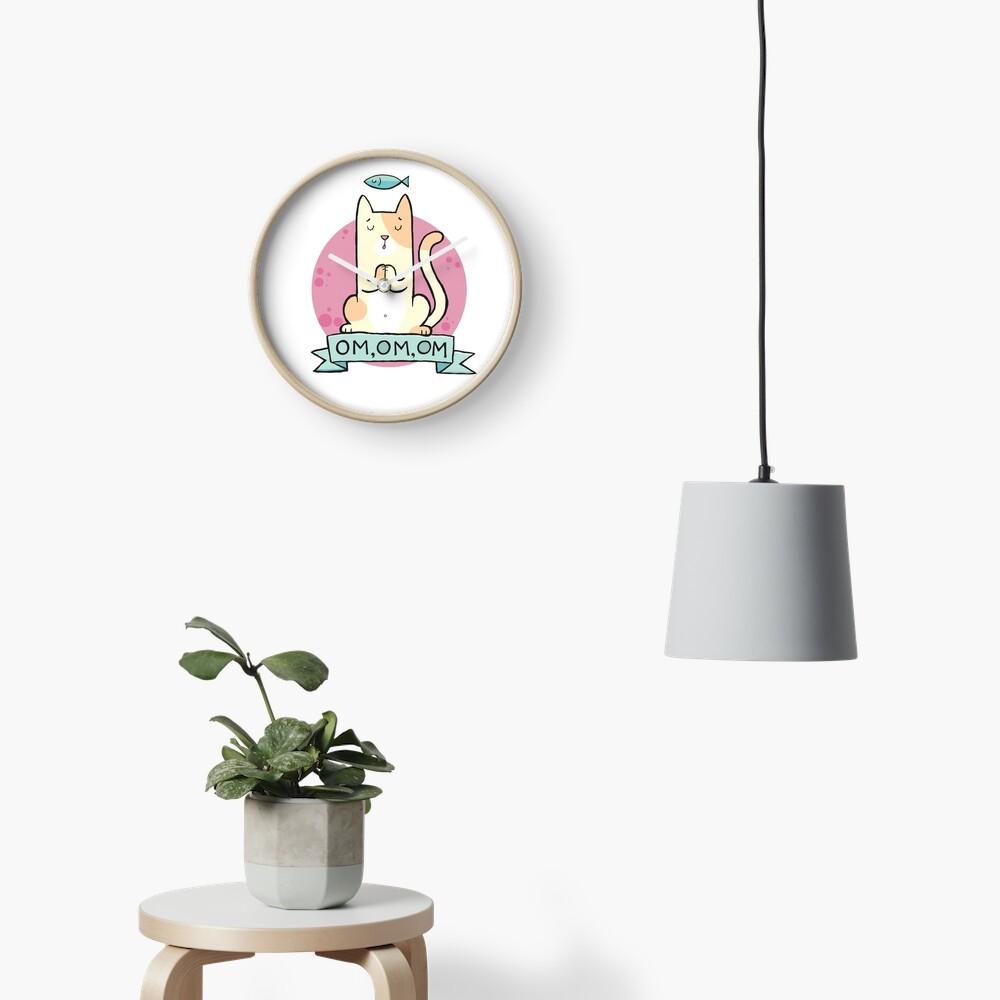 Cat OM Clock