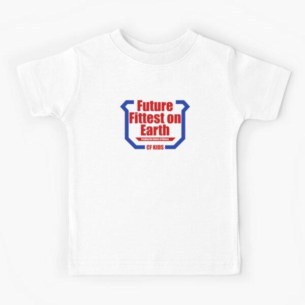 Future Fittest en la Tierra Camiseta para niños
