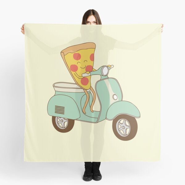 pizza delivery Scarf