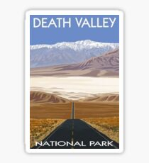 Death Valley National Park Highway Vintage Travel Decal Sticker