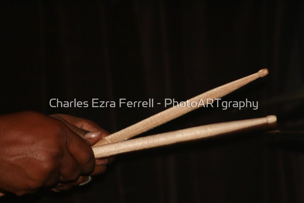 Drumming by Charles Ezra Ferrell - PhotoARTgraphy