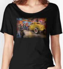 Hot Rod Garage 3 Women's Relaxed Fit T-Shirt