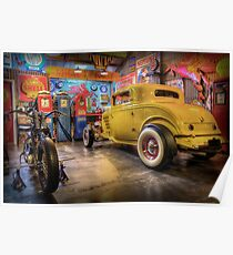 Hot Rod Garage 3 Poster