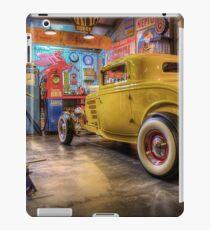 Hot Rod Garage 3 iPad Case/Skin