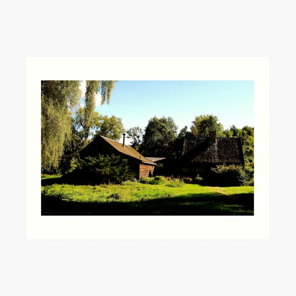 A Home In The Country Art Print