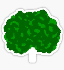 GOING GREEN TREE Sticker