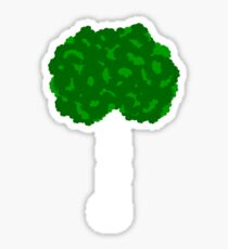 Green Tree II Sticker