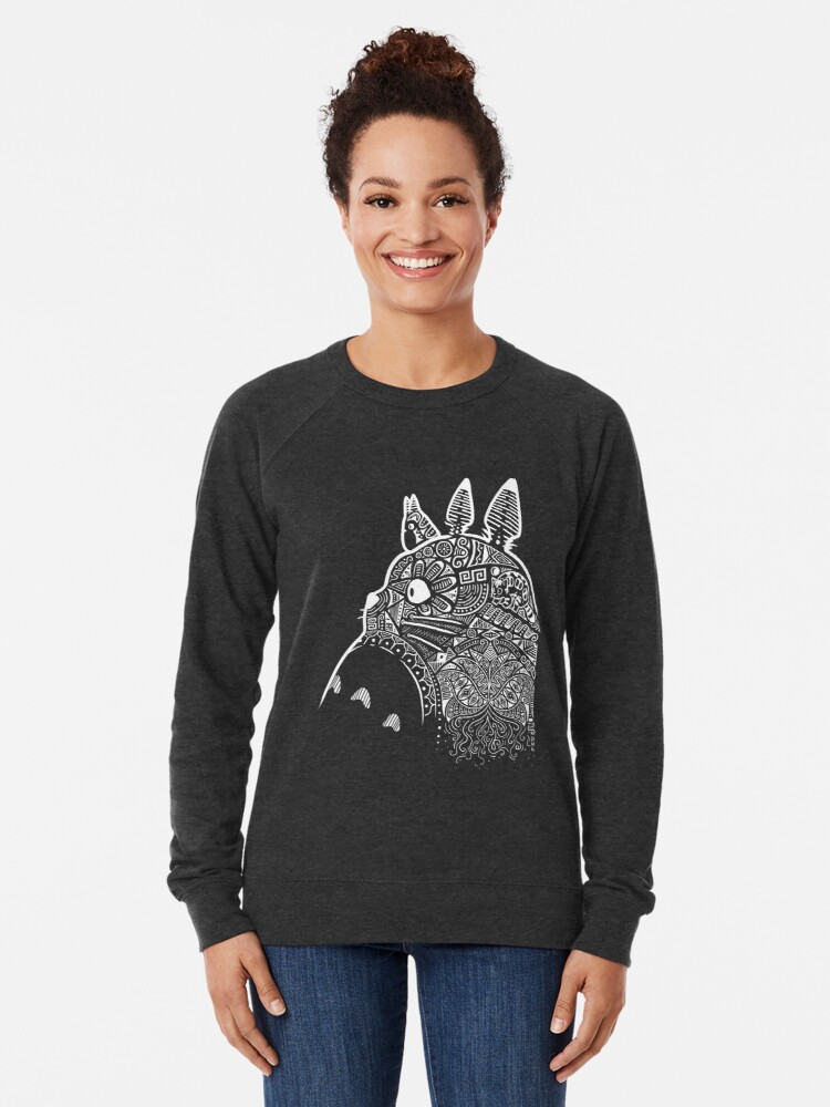 Alternate view of Graphic Totoro Lightweight Sweatshirt
