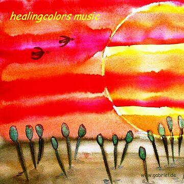 ...into the sun...art by Jutta Gabriel... von healingcolors