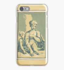 Antonio Maria Zanetti the Elder () dated The Virgin stands behind a table, looking downwards iPhone Case/Skin