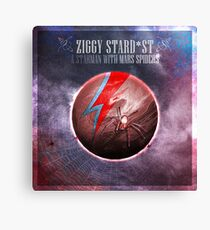 [SPACE ROCK LEGENDS!] A Starman with Mars Spiders Canvas Print