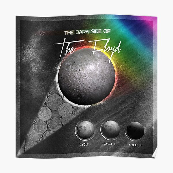 [SPACE ROCK LEGENDS!]  The Dark Side of the Floyd Poster