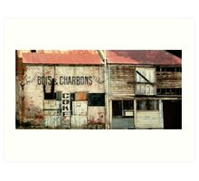 Bois & Charbons, the old Convent, Abbotsford Art Print