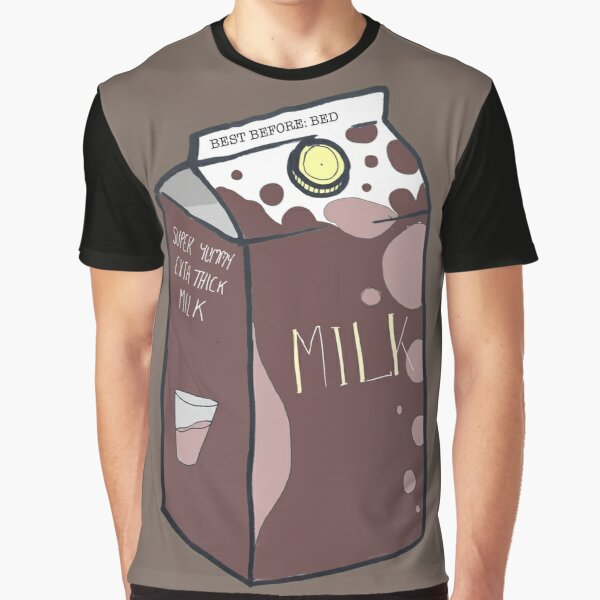 MILK v2 Chocolate Graphic T-Shirt