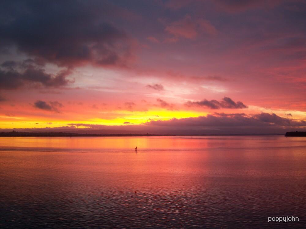 sunset  by poppyjohn