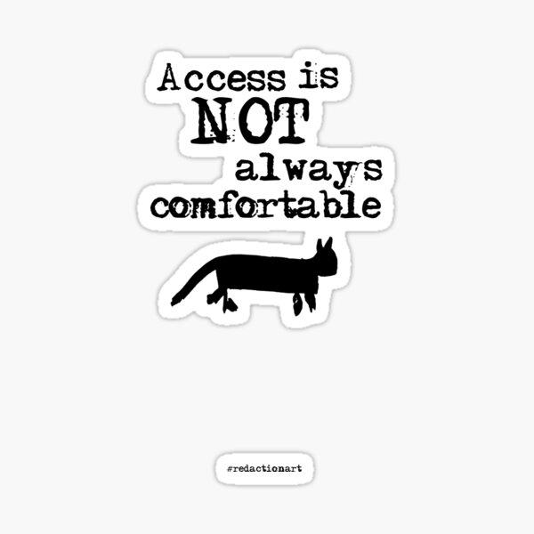 Redactionart - Cat Sticker