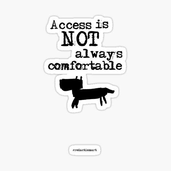 Redactionart - Dog Sticker