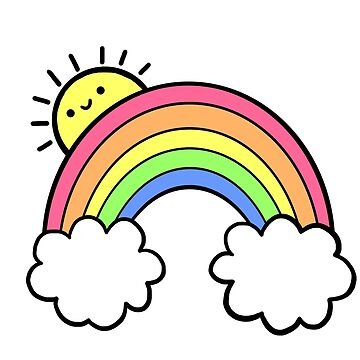 Sunshine and Rainbows by hellobubblegum