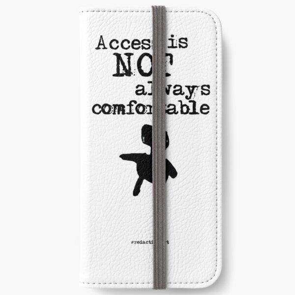 Redactionart - Human iPhone Wallet