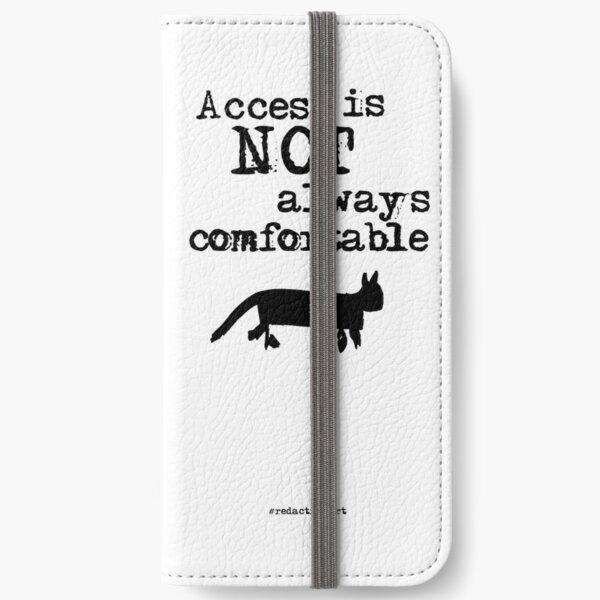 Redactionart - Cat iPhone Wallet